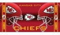 "Kansas City Chiefs  Shadow 30"" x 60"" Beach Towel"