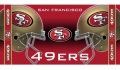 "San Francisco 49ers 30"" x 60"" NFL Beach Towel"