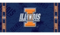 "Illinois Fighting Illini NCAA 30"" x 60"" Beach Towel"