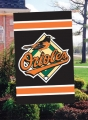 Baltimore Orioles MLB Embroidered Vertical Outdoor Flag