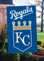 Kansas City Royals MLB Embroidered Vertical Outdoor Flag