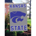 Kansas State Wildcats Embroidered Vertical Outdoor Flag