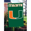Miami Hurricanes Embroidered Vertical Outdoor Flag