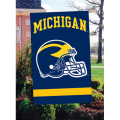 Michigan Wolverines Embroidered Vertical Outdoor Flag