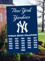 New York Yankees MLB World Series Champions Embroidered Vertical Outdoor Flag