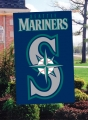 Seattle Mariners MLB Embroidered Vertical Outdoor Flag
