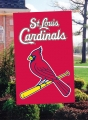 St. Louis Cardinals MLB Embroidered Vertical Outdoor Flag