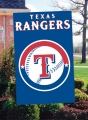 Texas Rangers MLB Embroidered Vertical Outdoor Flag