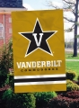 Vanderbilt Commodores Embroidered Vertical Outdoor Flag