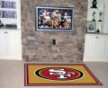 San Francisco 49ers NFL Area House Rugs