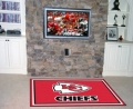 Kansas City Chiefs NFL Area House Rugs