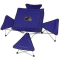 Baltimore Ravens NFL Integrated Tailgating Table with Stools-CLOSEOUT
