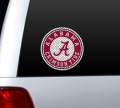 "Alabama Crimson Tide ""A"" NCAA Logo Glass Tatz """"Cutz"""" Window Graphic/Decals"