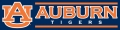 Auburn Tigers 8' x 2' Embroidered Party Banner