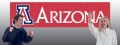 Arizona Wildcats 8' x 2' Embroidered Party Banner