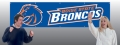 Boise State Broncos 8' x 2' Embroidered Party Banner