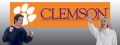 Clemson Tigers 8' x 2' Embroidered Party Banner