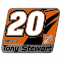 Tony Stewart #20 NASCAR Hitch Cover
