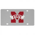Mississippi State Bulldogs NCAA Stainless Steel License Plate