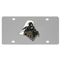 Purdue Boilermakers NCAA Stainless Steel License Plate