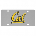 Cal Berkeley Bears NCAA Stainless Steel License Plate