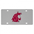 Washington State Cougars NCAA Stainless Steel License Plate