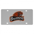 Oregon State Beavers NCAA Stainless Steel License Plate