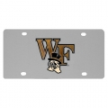 Wake Forest Demon Deacons NCAA Stainless Steel License Plate