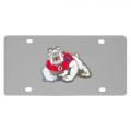Fresno State Bulldogs NCAA Stainless Steel License Plate