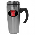 NC State Wolfpack Stainless Steel 18oz Travel Mug