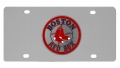 Boston Red Sox MLB Stainless Steel License Plate
