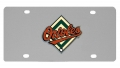 Baltimore Orioles MLB Stainless Steel License Plate