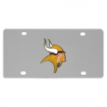 Minnesota Vikings Stainless Steel License Plate
