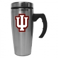 Indiana Hoosiers NCAA Stainless Steel Contemporary 18 oz. Travel Mug