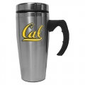 Cal Berkeley Golden Bears NCAA Stainless Steel Contemporary 18 oz. Travel Mug