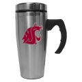 Washington State Cougars Stainless Steel Travel Mug