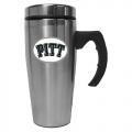 Pittsburgh Panthers NCAA Stainless Steel Contemporary 18 oz. Travel Mug