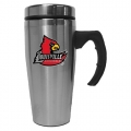 Louisville Cardinals NCAA Stainless Steel Contemporary 18 oz. Travel Mug