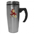 Arizona State Sun Devils NCAA Stainless Steel Contemporary 18 oz. Travel Mug