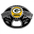 Green Bay Packers NFL Bottle Opener Tailgater Belt Buckle