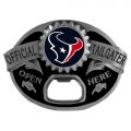Houston Texans NFL Bottle Opener Tailgater Belt Buckle