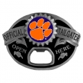 Clemson Tigers NCAA Bottle Opener Tailgater Belt Buckle