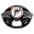 Miami Dolphins NFL Bottle Opener Tailgater Belt Buckle