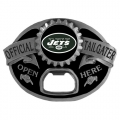 New York Jets NFL Bottle Opener Tailgater Belt Buckle