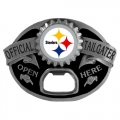 Pittsburgh Steelers NFL Bottle Opener Tailgater Belt Buckle