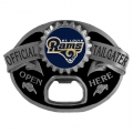 St. Louis Rams NFL Bottle Opener Tailgater Belt Buckle