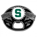 Michigan State Spartans NCAA Bottle Opener Tailgater Belt Buckle