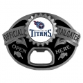 Tennessee Titans NFL Bottle Opener Tailgater Belt Buckle