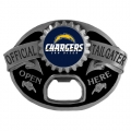 San Diego Chargers NFL Bottle Opener Tailgater Belt Buckle