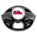 Ole Miss Rebels NCAA Bottle Opener Tailgater Belt Buckle